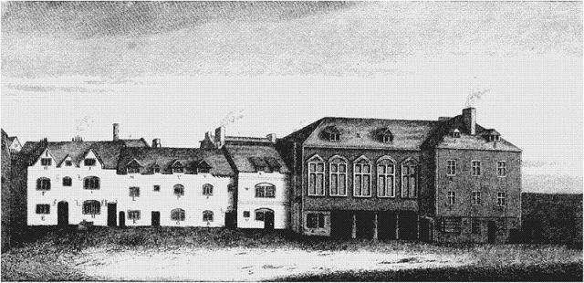 First Marshalsea Prison, Southwark, 1773 (Wikipedia)