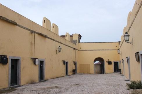 The soldiers' quarters, Palmela Castle