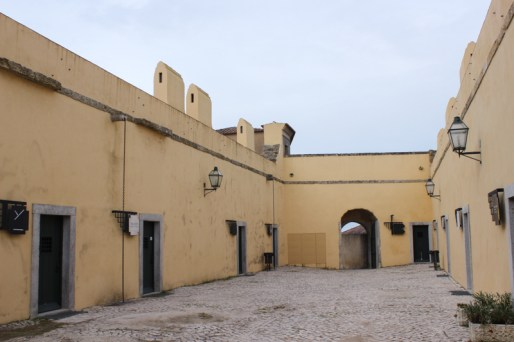 The soldiers' quarters, Palmela Castle