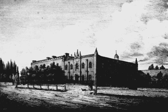 Philanthropic Society (R) and Chapel (L)