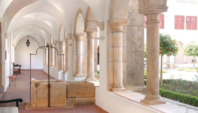 The cloister of the Convent of the Stigmata
