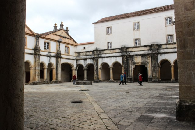 The Micha Cloister where food was handed out to the poor