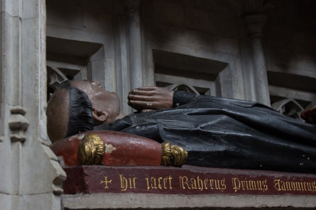 Rahere, the founder of St Bartholomew the Great