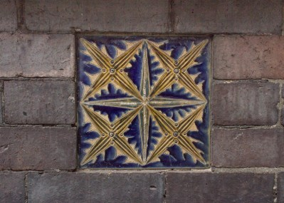 Tiles on the Royal Doulton Factory