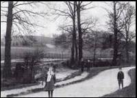 Ravensbourne in Bromley in 19C, before culverting (www.bromleytownpark.org.uk)