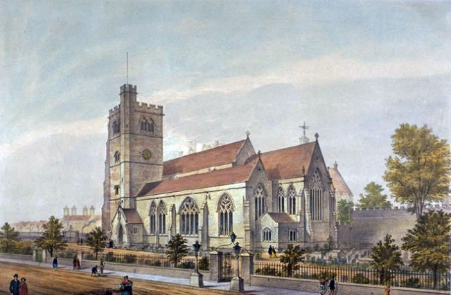 St Mary At Lambeth,1851 (www.partleton.co.uk)