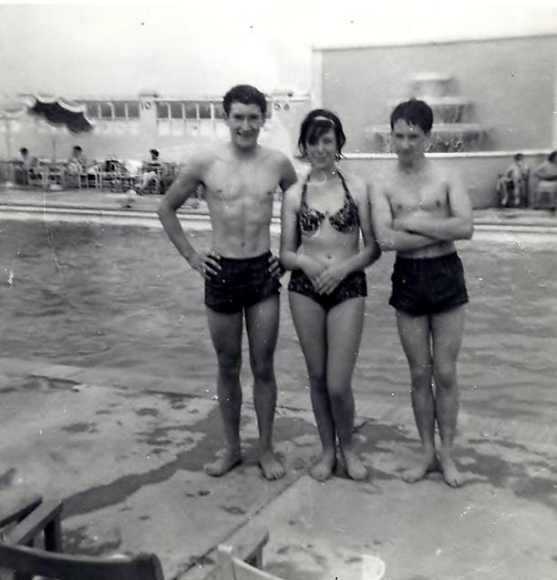 Southwark Park pool 1960