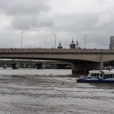 The Tour of The Thames – London Bridge, Bradshaw's HandBook, no.106