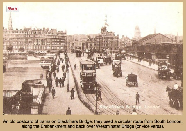 Trams on Blackfriars Bridge, (www.http://usuaris.tinet.org)
