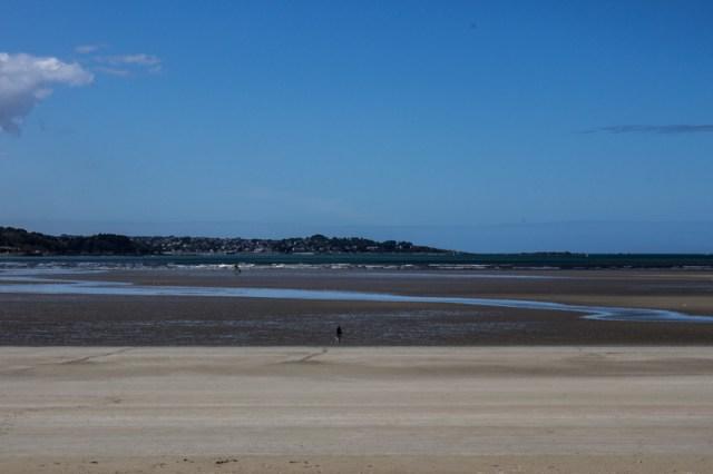 The bay at St Michel en Greve