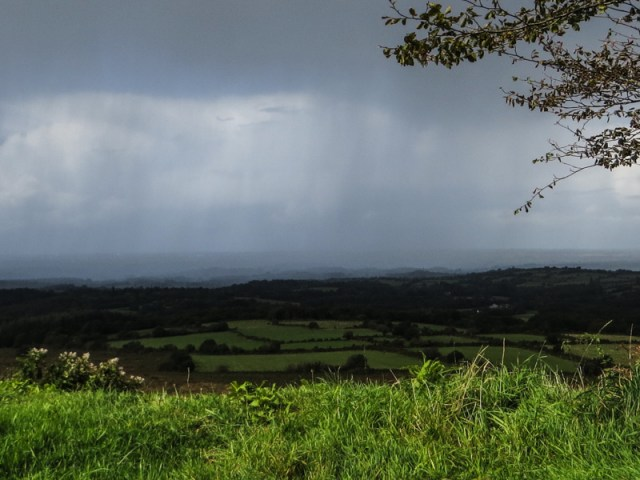 Rain in the Monts d'Arree