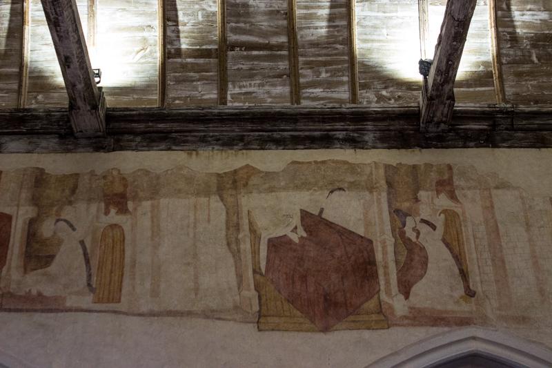 14C wall paintings in La Martyre