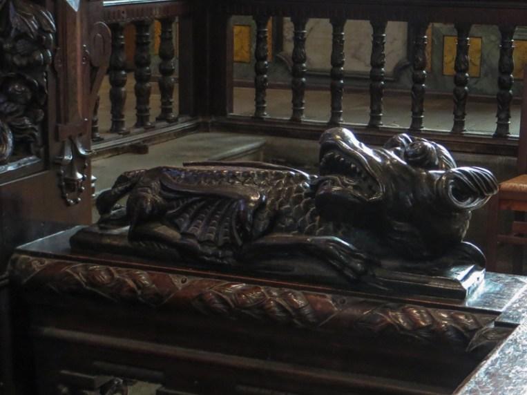 Carvings in the Church of Lampaul-Guimiliau