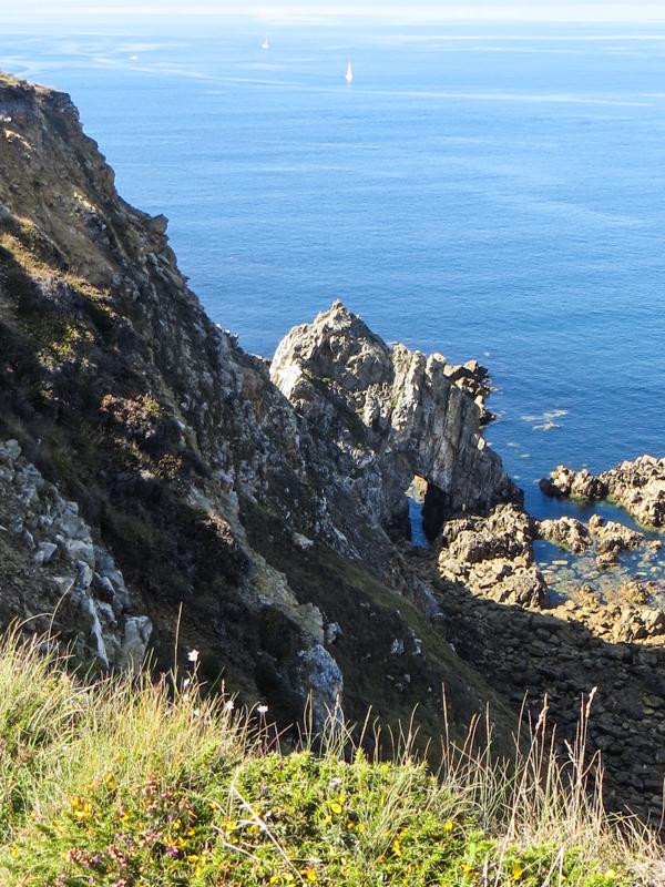 The coastal path at Camaret-sur-Mer
