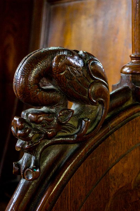 Carved Choir Stalls, Pleurin les Morlaix