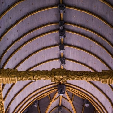 Bodilis Church in Brittany