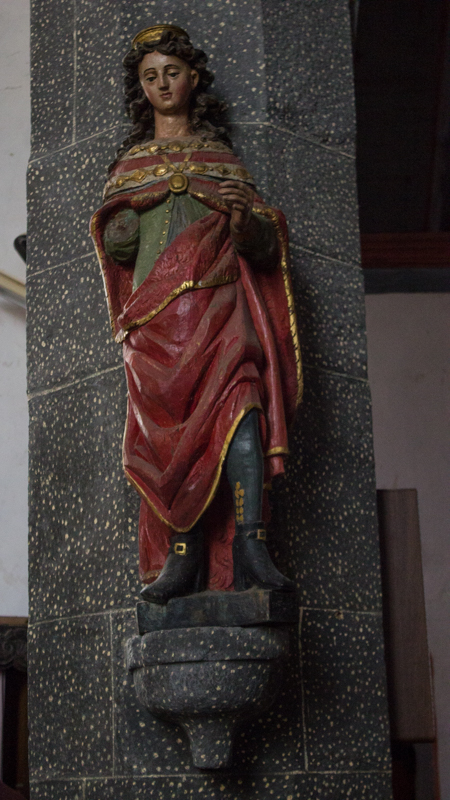 St Melar, Locmelar Church