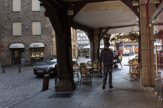 Early morning in Dinan