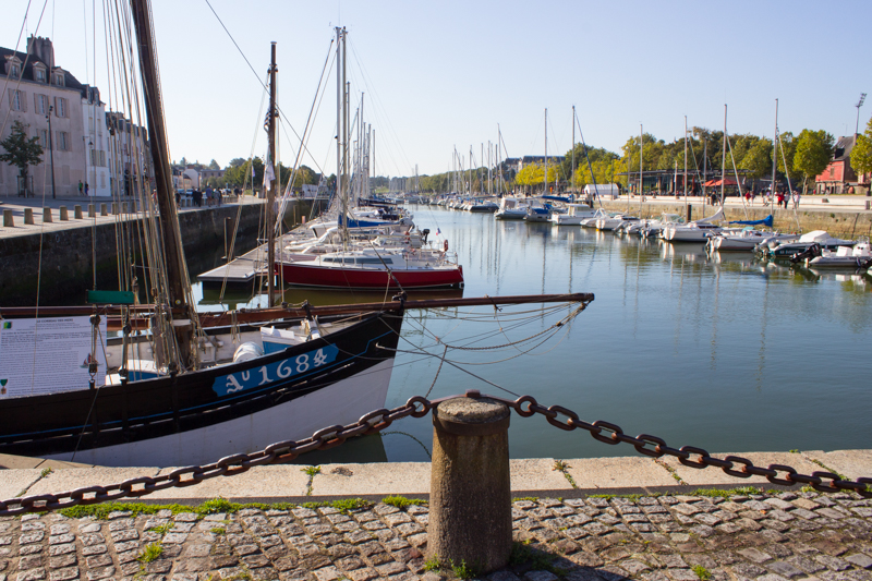 The port, Vannes