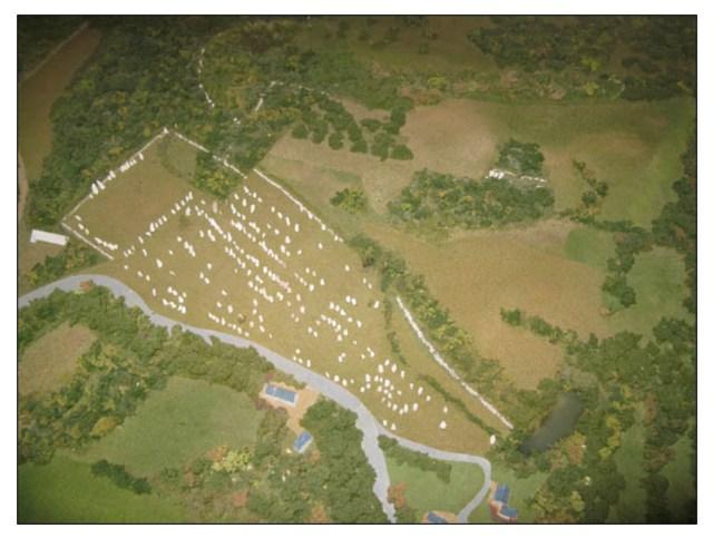 Alignment of Kerlescan (http://www.prehistoricjersey.net/Alignements_de_Kerlescan.shtml)