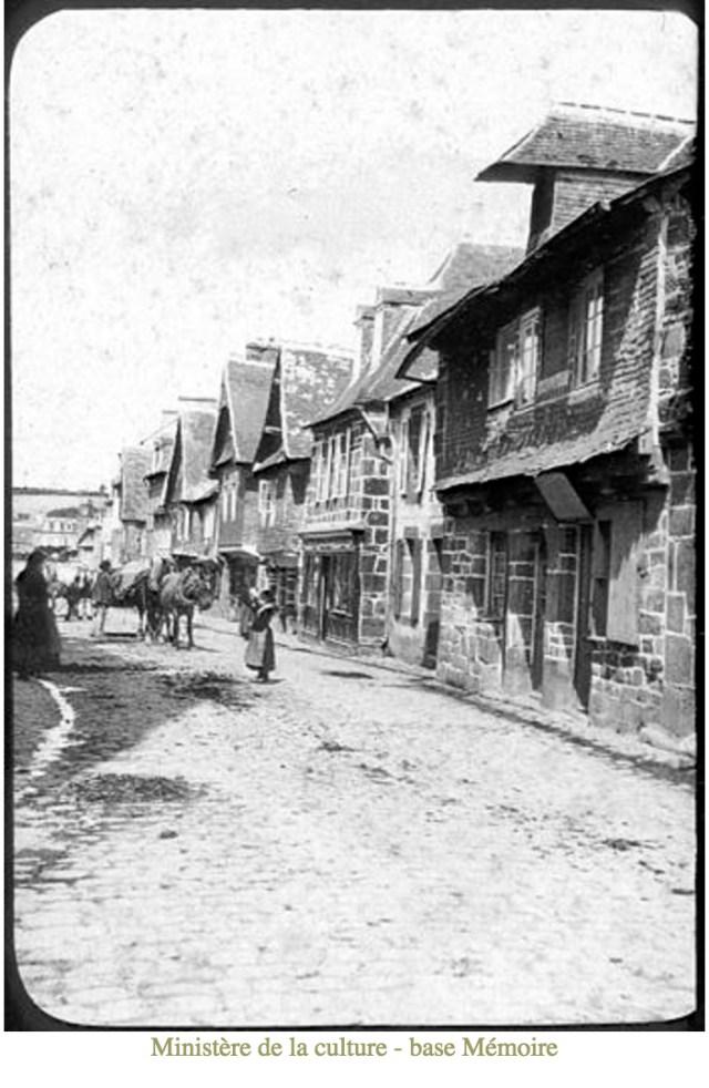 La Grande Rue, Le Faou, Lucien Roy (http://www.culture.gouv.fr/public/mistral/memoire_fr)