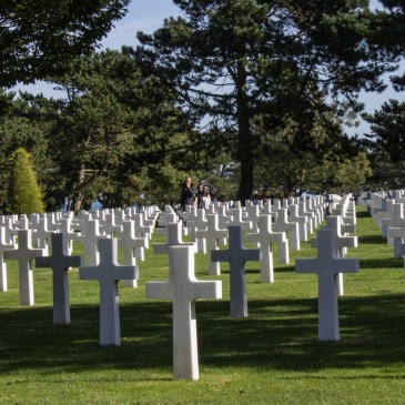 The American Cemetery at Omaha Beach