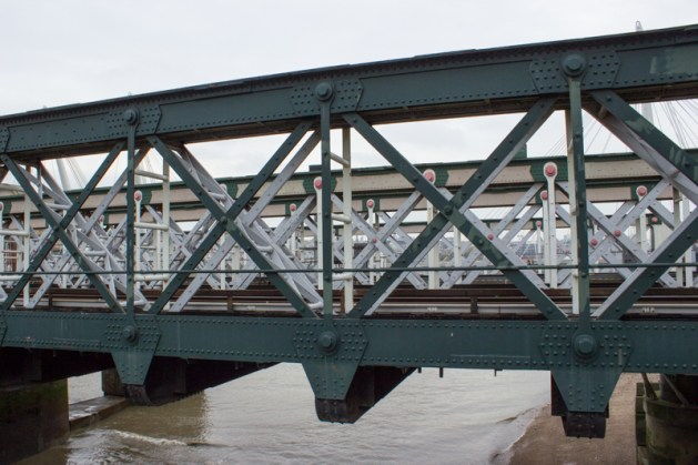 Hawkshaw's iron railway bridge