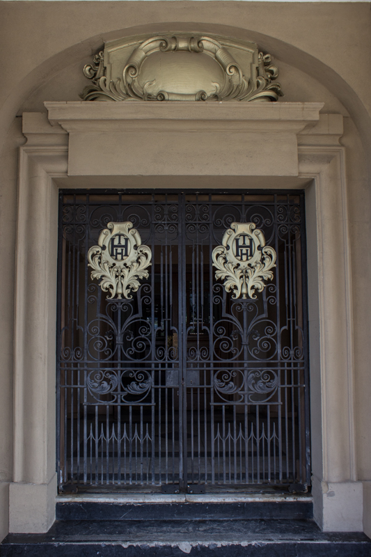 The main door of the City Hall, Harrismith