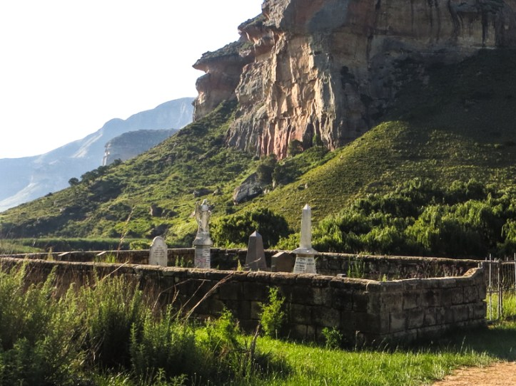 Van Reenen Graveyard, Golden Gate National Park