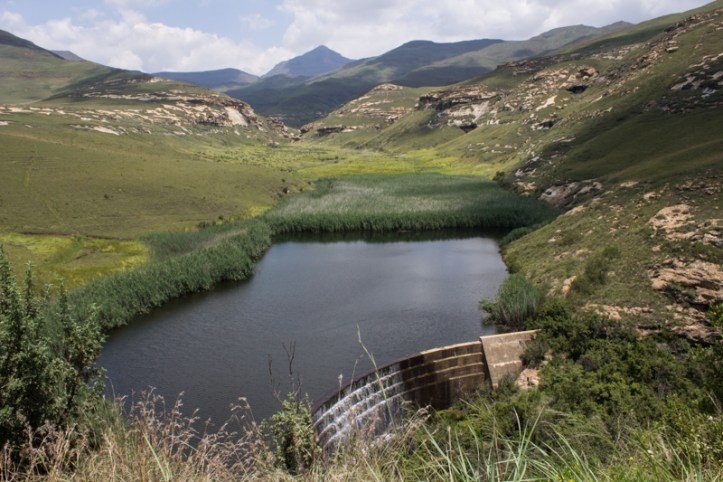 Langtoon Dam, Golden Gate National Park