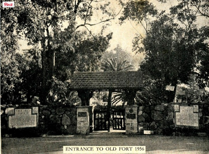The Old Fort, 1956 (http://salbu.co.za/aWood/AnnalsOfNatal_Wood7.html)