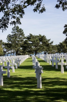 The American War Cemetery at Omaha Beach