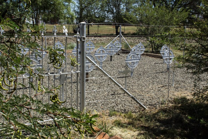 Memorial graveyard