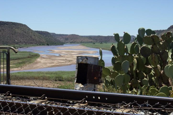 The Orange River at Bethulie