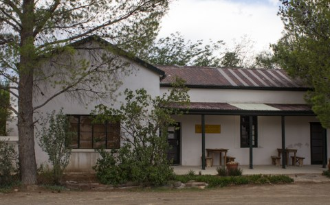 Old house in Nieu Bethesda