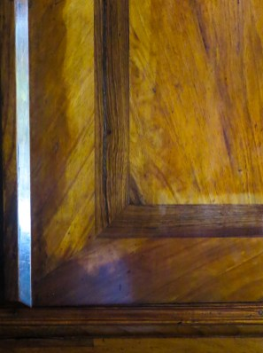 Yellowwood and stinkwood cupboard in the Drostdy, Swellendam