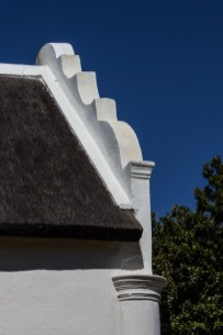 The end gables of Boschendal