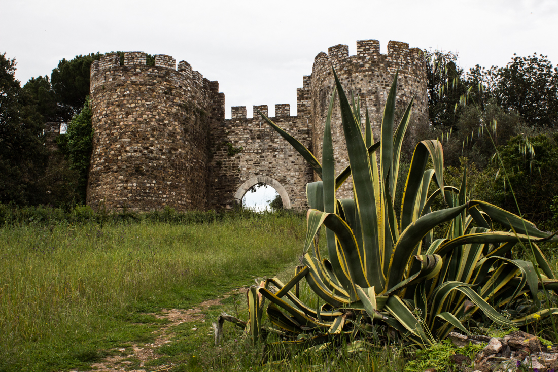 The Town Gate, facing the main square of Vila Vicosa