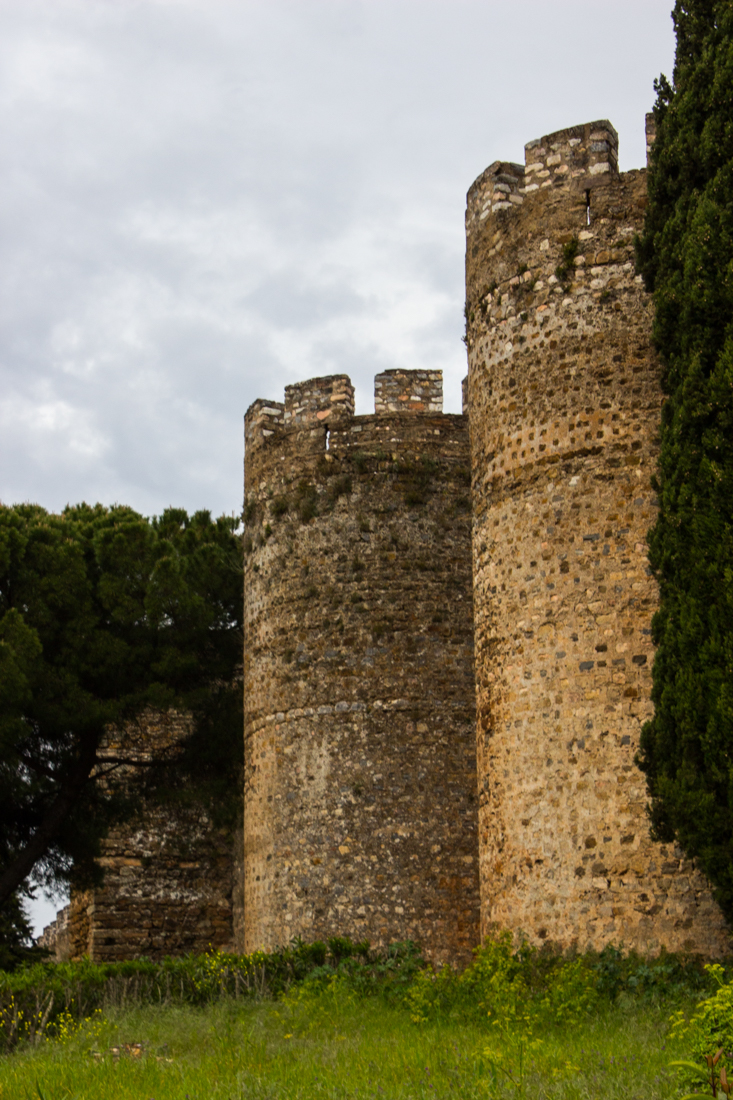 The walls and the Town Gate of the Castle, Vila Vicosa