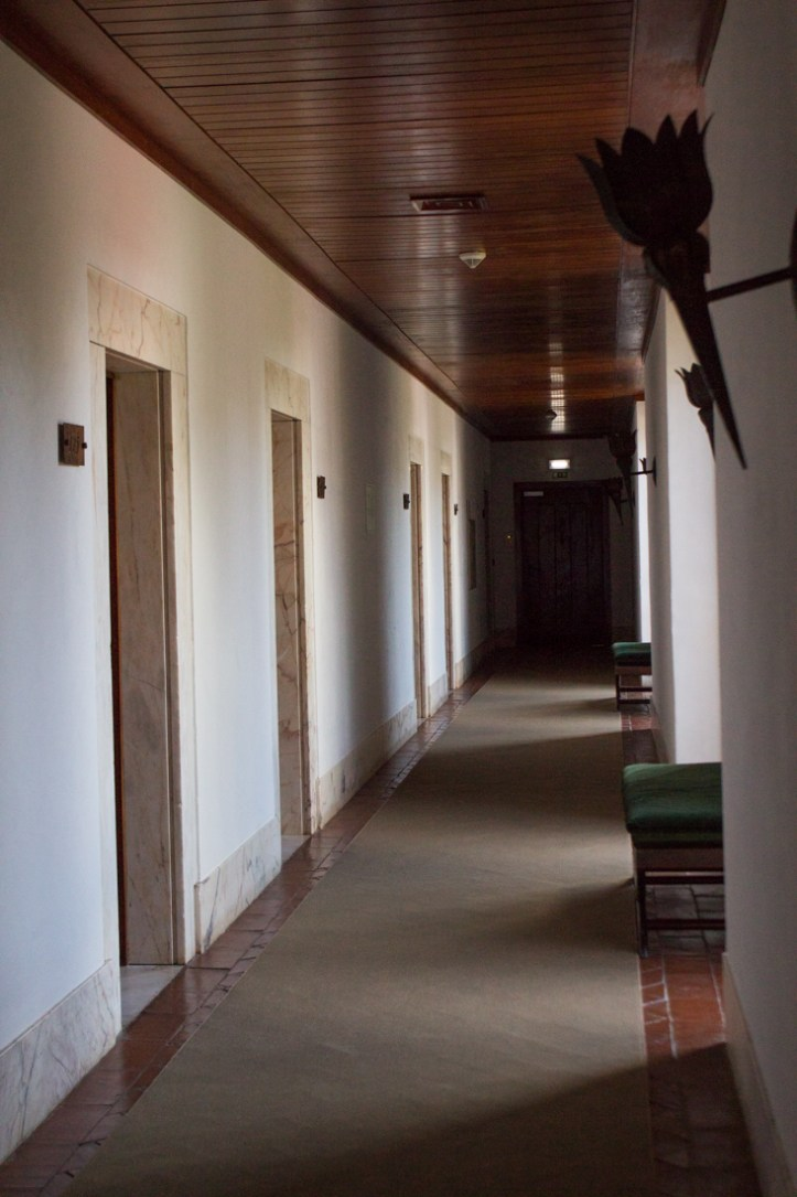 The rooms in the Pousada at Vila Vicosa