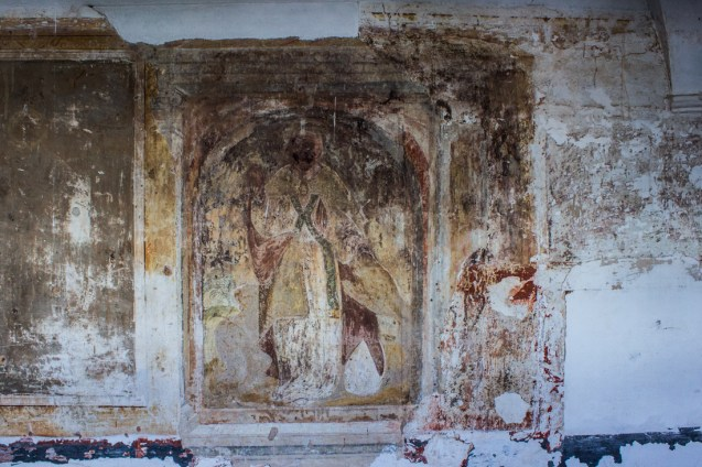 Frescoes in the Upper Cloister of the Pousada, Vila Vicosa