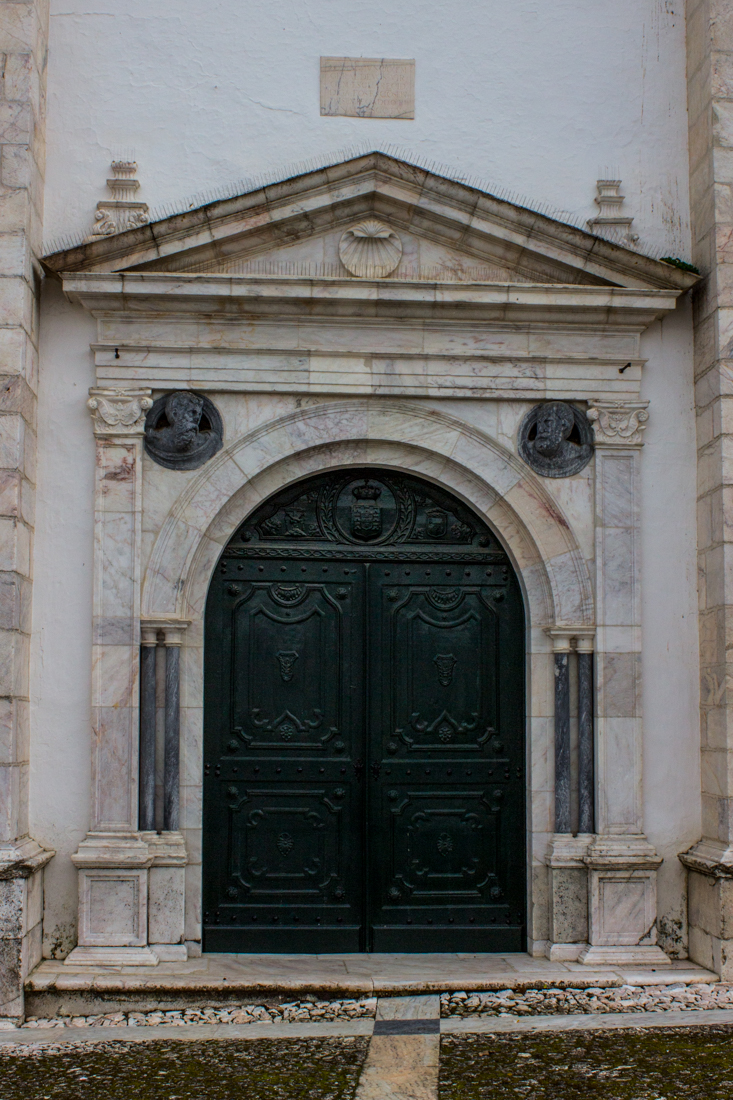 The doorway into the Church of the Pousada, Vila Vicosa