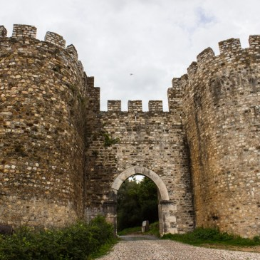 The Castle in Vila Vicosa, Portugal