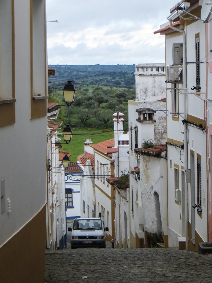 The view from Arronches over the Alentejo