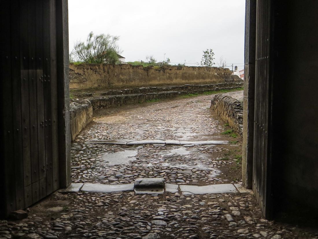 The Gate into Juromanha Castle