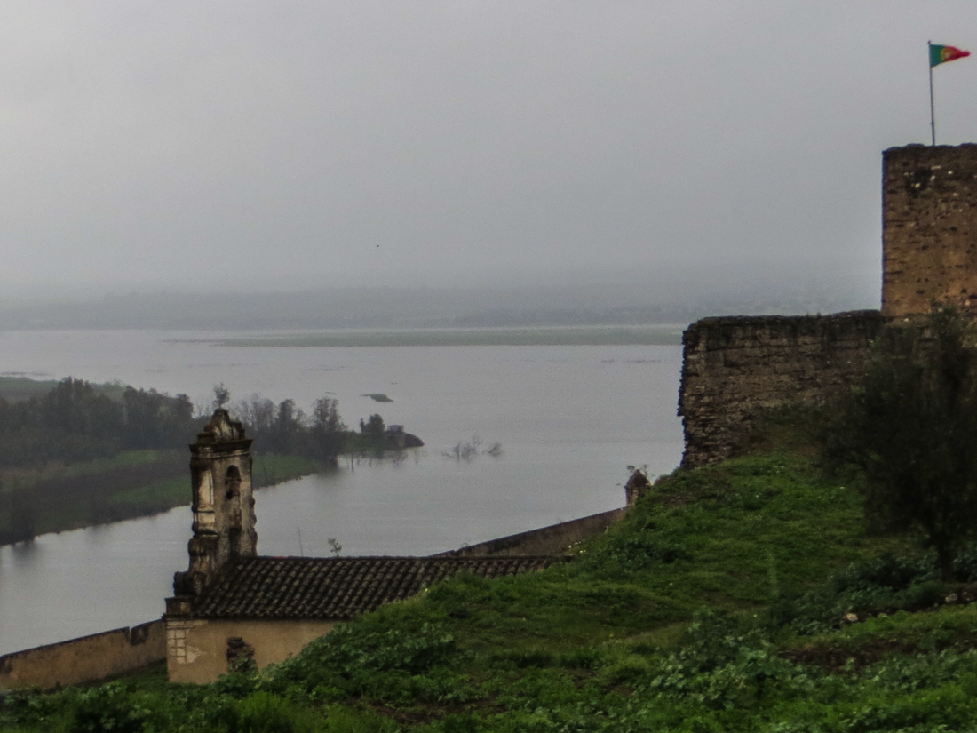 Juromenha Castle overlooking the Guadiana River