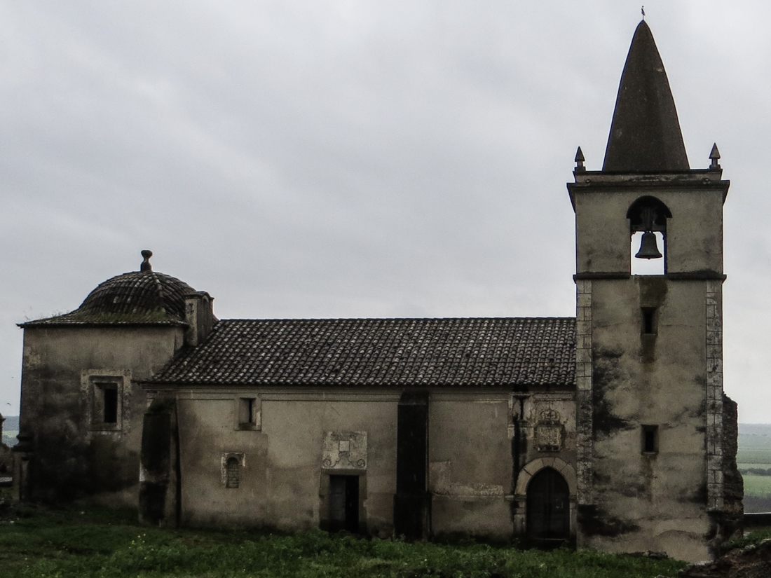 The Parish Church in Juromenha Castle