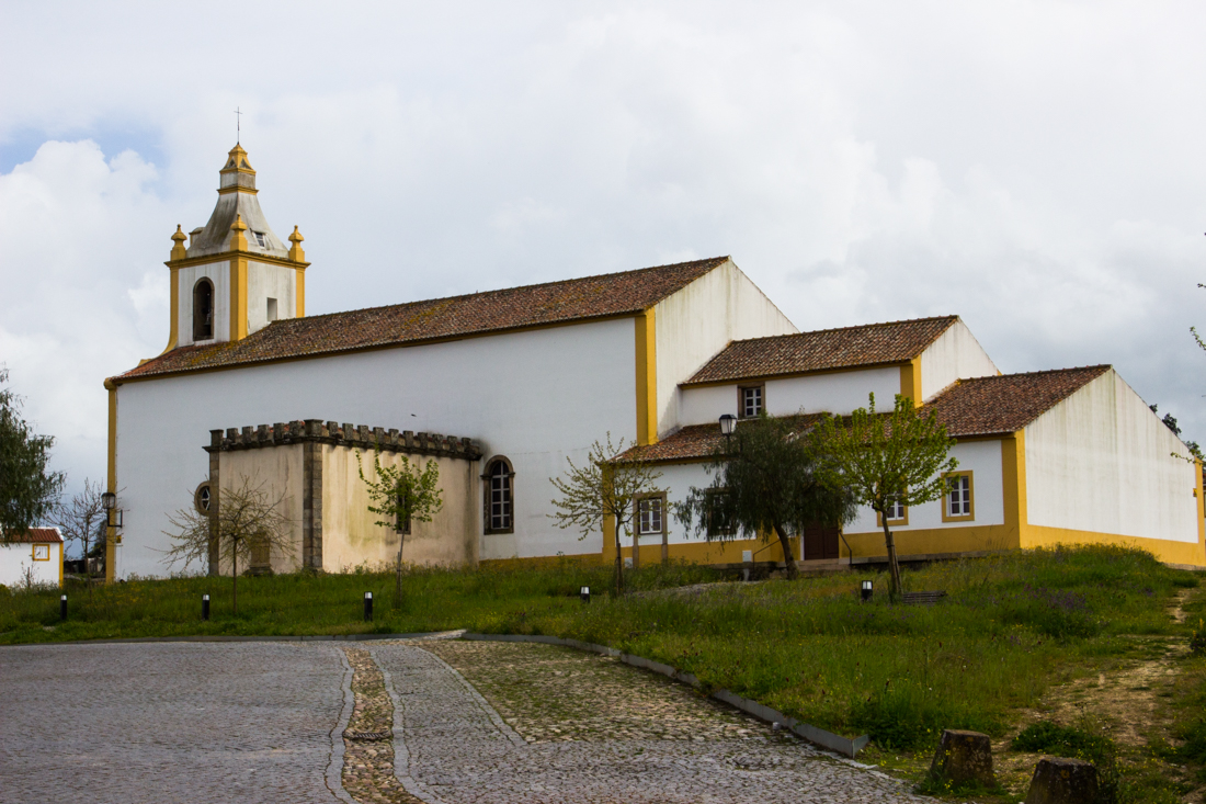 The Church in Flor da Rosa
