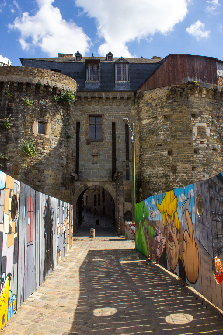The Porte Mordelais, the main gate into the old city of Rennes