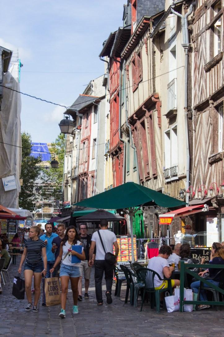 Places des Lices, Rennes